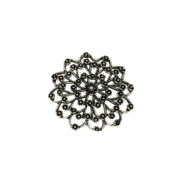 Miracle flower cluster brooch