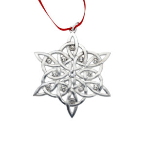 Crystal snowflake Christmas decoration