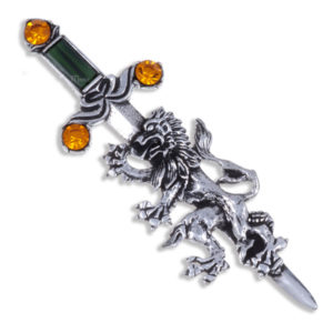 Miracle Lion Sword Brooch