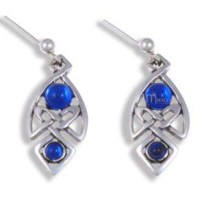 Miracle Celtic knot drop earrings