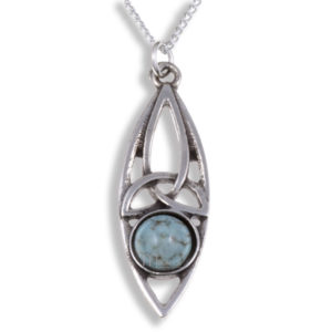 Miracle oval knot pendant