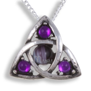 Miracle love knot pendant