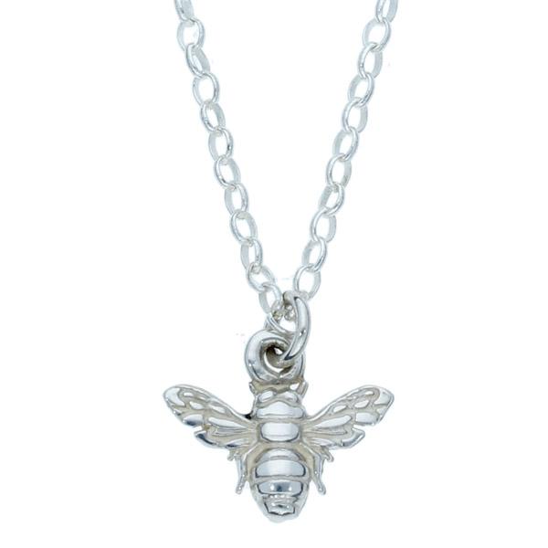 Silver Tiny Bee pendant