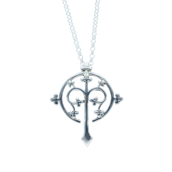 Silver Thirteenth Century Tree of Life pendant