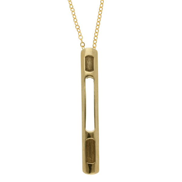 Bronze Driftwood pendant