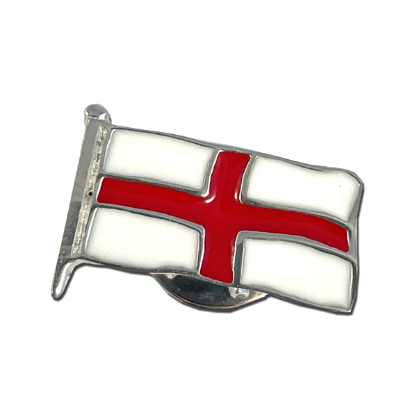 England Lapel Pin