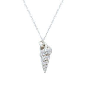 Silver Bryher Shell pendant
