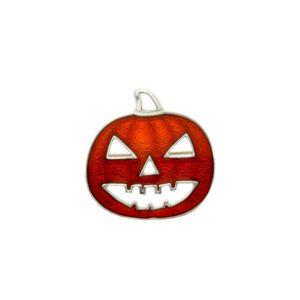 Pumpkin brooch